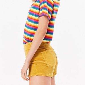 Vintage Guess Yellow Short🌈